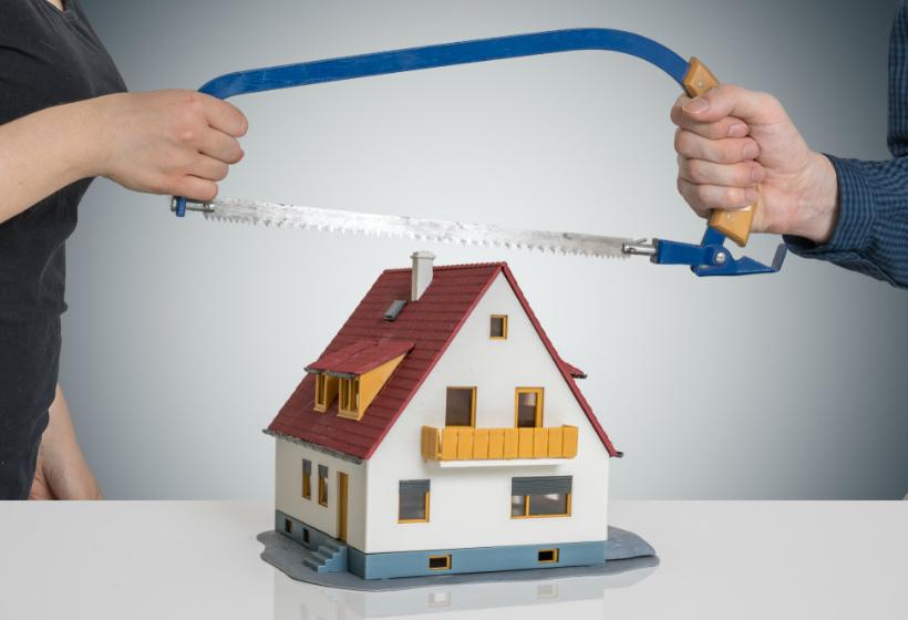 раздел квартиры в кредит при разводе